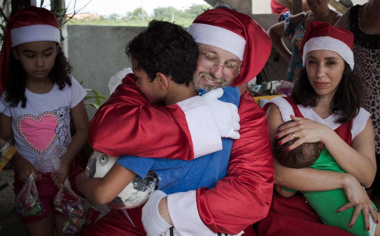 soldados de luz alegrando o natal